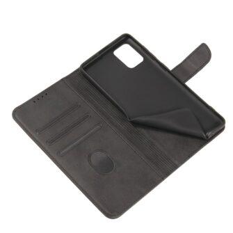 Samsung A51 magnetiga raamatkaaned must 5