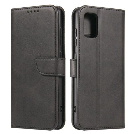 Samsung A51 magnetiga raamatkaaned must
