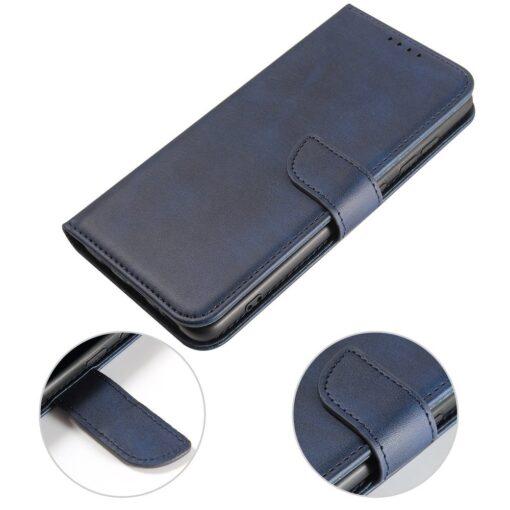 Samsung A51 magnetiga raamatkaaned sinine 4