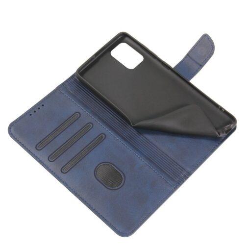 Samsung A51 magnetiga raamatkaaned sinine 5