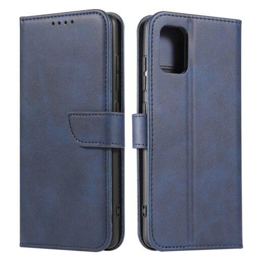 Samsung A51 magnetiga raamatkaaned sinine