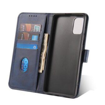 Samsung A51 magnetiga raamatkaaned sinine 6