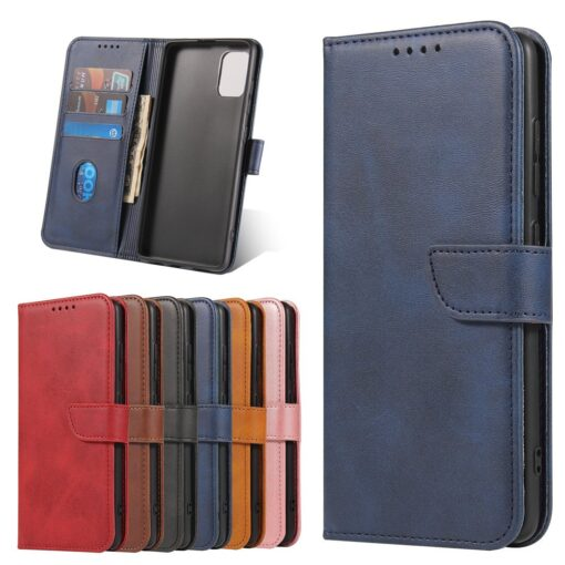 Samsung A51 magnetiga raamatkaaned sinine 8