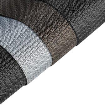 Samsung A51 umbris Dux Ducis Fino silikoonit servade ja nailonist tagusega must 2