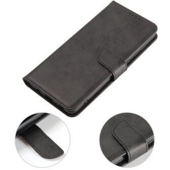 Samsung A71 magnetiga raamatkaaned must 4