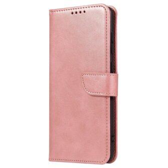 Samsung A71 magnetiga raamatkaaned roosa 1