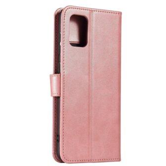 Samsung A71 magnetiga raamatkaaned roosa 2