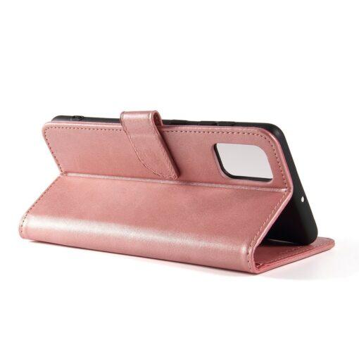 Samsung A71 magnetiga raamatkaaned roosa 3