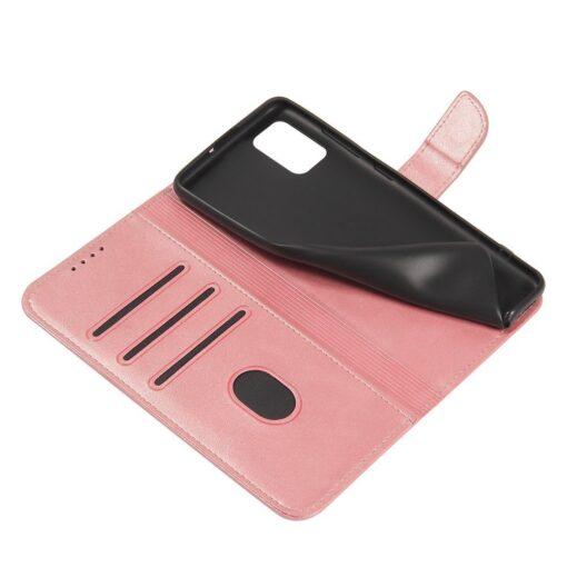 Samsung A71 magnetiga raamatkaaned roosa 5