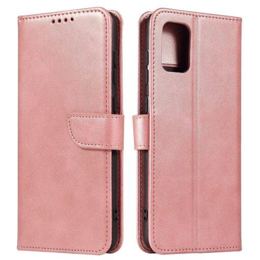 Samsung A71 magnetiga raamatkaaned roosa