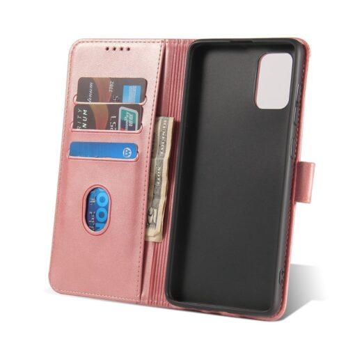 Samsung A71 magnetiga raamatkaaned roosa 6