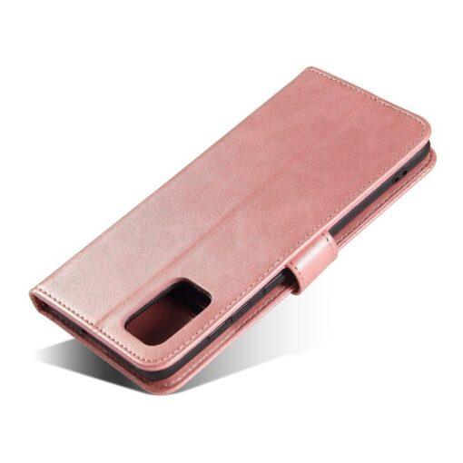 Samsung A71 magnetiga raamatkaaned roosa 7