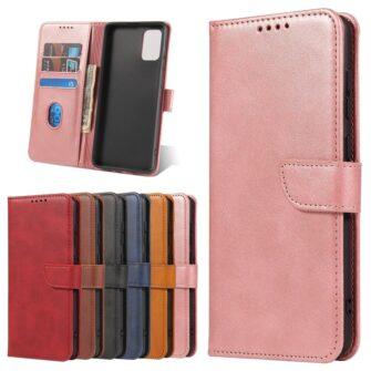 Samsung A71 magnetiga raamatkaaned roosa 8