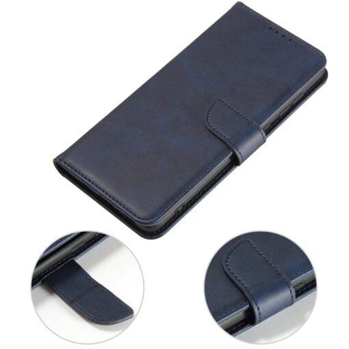 Samsung A71 magnetiga raamatkaaned sinine 2