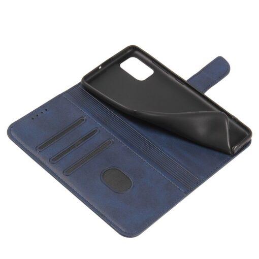 Samsung A71 magnetiga raamatkaaned sinine 3