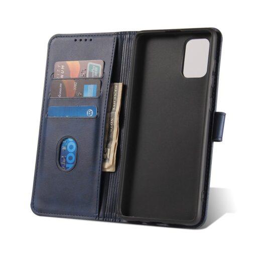 Samsung A71 magnetiga raamatkaaned sinine 5