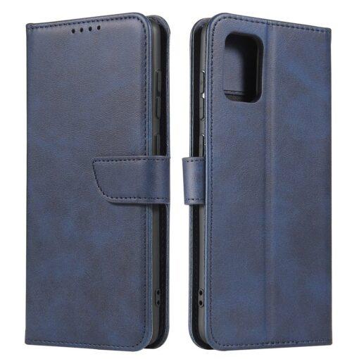 Samsung A71 magnetiga raamatkaaned sinine