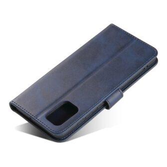 Samsung A71 magnetiga raamatkaaned sinine 6