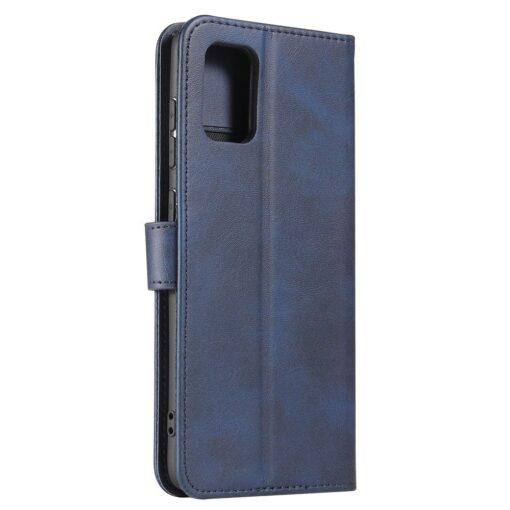 Samsung A71 magnetiga raamatkaaned sinine 7