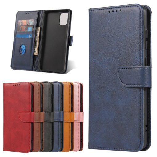 Samsung A71 magnetiga raamatkaaned sinine 8