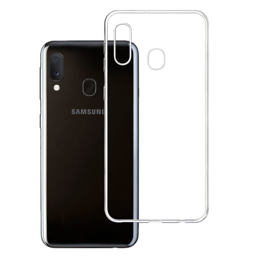 Samsung Galaxy A20e clear case
