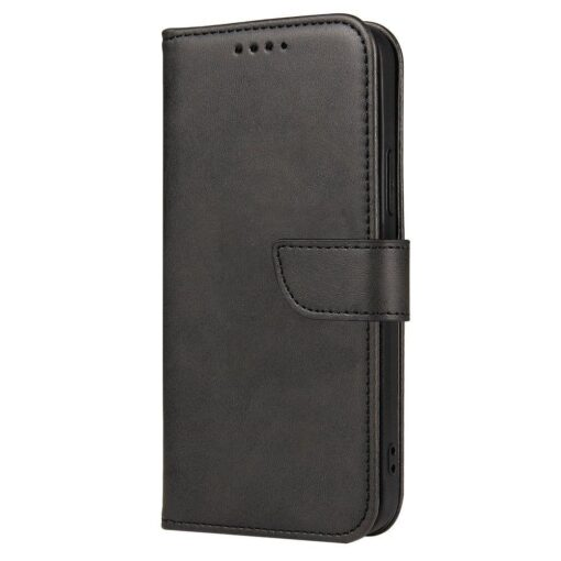 Samsung Galaxy A20e magnetiga raamatkaaned must 2