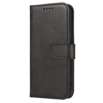 Samsung Galaxy A21S magnetiga raamatkaaned must 2