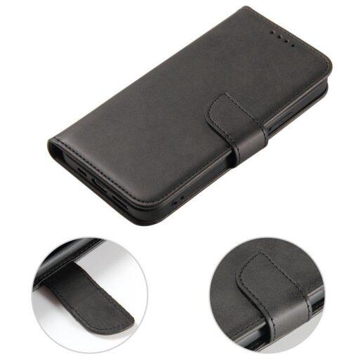 Samsung Galaxy A21S magnetiga raamatkaaned must 7