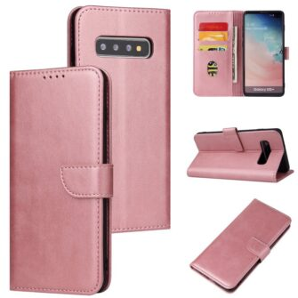 Samsung Galaxy S10 S10 Plus magnetiga raamatkaaned roosa 2