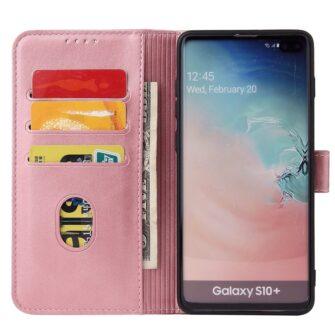 Samsung Galaxy S10 S10 Plus magnetiga raamatkaaned roosa 3