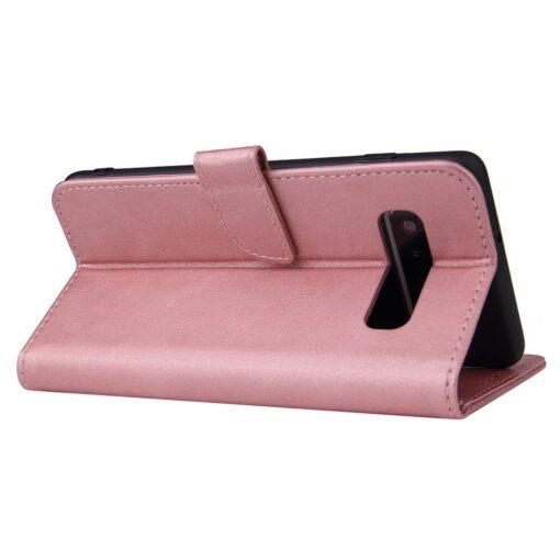Samsung Galaxy S10 S10 Plus magnetiga raamatkaaned roosa 4