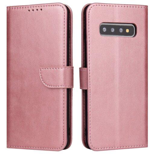 Samsung Galaxy S10 S10 Plus magnetiga raamatkaaned roosa