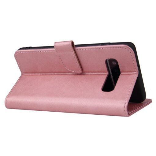 Samsung Galaxy S10 magnetiga raamatkaaned roosa 1 1