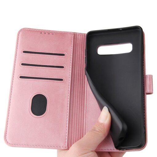 Samsung Galaxy S10 magnetiga raamatkaaned roosa 2 1