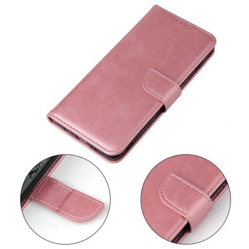 Samsung Galaxy S10 magnetiga raamatkaaned roosa 3 1