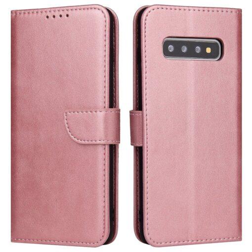 Samsung Galaxy S10 magnetiga raamatkaaned roosa 5 1