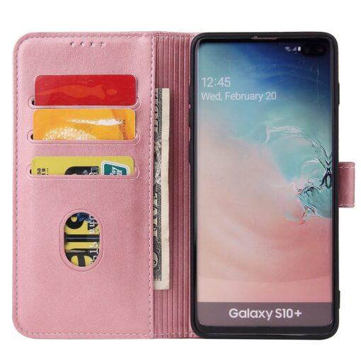 Samsung Galaxy S10 magnetiga raamatkaaned roosa 6 1