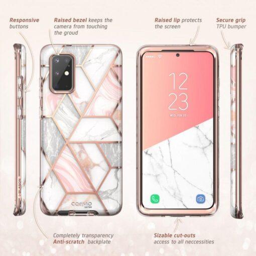 Samsung Galaxy S20 Plus umbris Supcase Cosmo Galaxy Marble 2