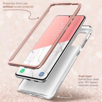 Samsung Galaxy S20 Plus umbris Supcase Cosmo Galaxy Marble 3