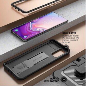 Samsung Galaxy S20 Plus umbris Supcase Unicorn Beetle Pro Black 3