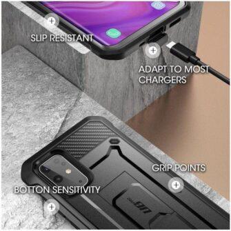 Samsung Galaxy S20 Plus umbris Supcase Unicorn Beetle Pro Black 4