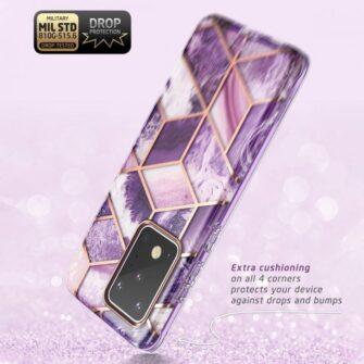 Samsung Galaxy S20 Ultra umbris Supcase Cosmo Galaxy Purple 5