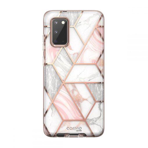 Samsung Galaxy S20 umbris Supcase Cosmo Galaxy Marble 1