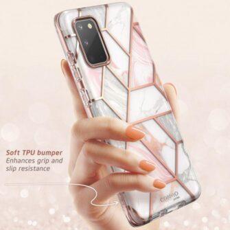 Samsung Galaxy S20 umbris Supcase Cosmo Galaxy Marble 4