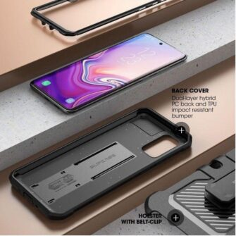 Samsung Galaxy S20 umbris Supcase Unicorn Beetle Pro Black 2