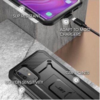 Samsung Galaxy S20 umbris Supcase Unicorn Beetle Pro Black 5