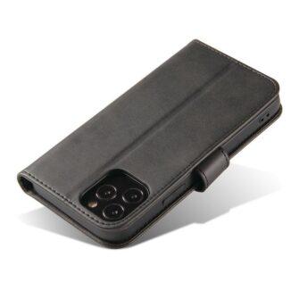 Samsung Galaxy S21 Ultra magnetiga raamatkaaned must 4