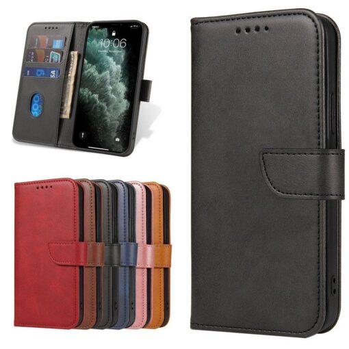 Samsung Galaxy S21 Ultra magnetiga raamatkaaned must 8