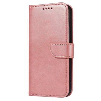 Samsung Galaxy S21 Ultra magnetiga raamatkaaned roosa 1