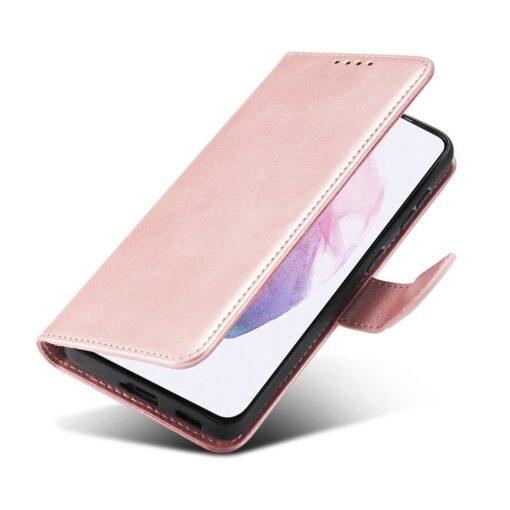 Samsung Galaxy S21 Ultra magnetiga raamatkaaned roosa 4 1